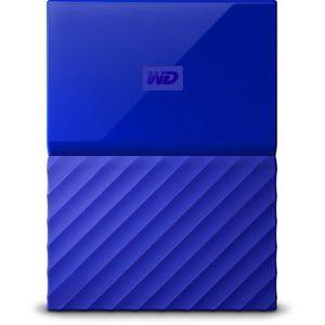 DISQUE DUR EXTERNE WESTERN DIGITAL My Passport - 3To - Bleu