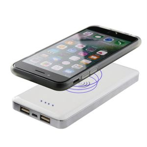 Fast Induction Charging Qi Charger Technology for iPhone//Samsung//White BYONDSELF-Wireless Charger Pad