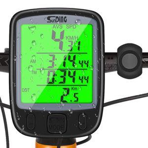 COMPTEUR POUR CYCLE Cycle LCD numérique étanche vélo Ordinateur de vél