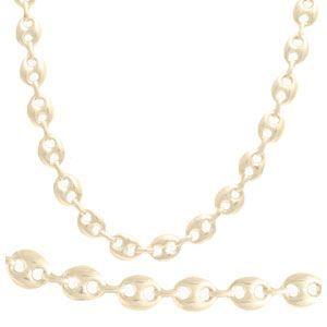 CHAINE DE COU SEULE Chaîne collier argent Arabica II - Homme