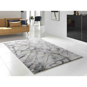 TAPIS MARBLE Grand tapis de salon, style marbre et joint
