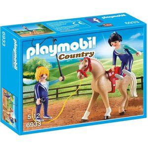 UNIVERS MINIATURE PLAYMOBIL 6933 - Country - Voltigeuses et Cheval