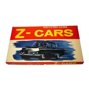 JEU SOCIÉTÉ - PLATEAU Z Cars - The Classic 1960s TV Series Retro Board G