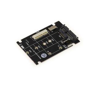 CARTE CONTROLEUR Adaptateur M2 NGFF (M2 SATA) ou MSATA SSD vers SAT