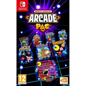 JEU NINTENDO SWITCH NAMCO Museum Arcade Pac Jeu Nintendo Switch