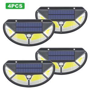APPLIQUE EXTÉRIEURE Lampe Solaire Extérieur 100 led 2 Pack éclairage S