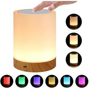 LAMPE A POSER 7House Lampe de Chevet LED Tactile changement de 7