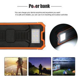BATTERIE EXTERNE 10000 mAh Power Bank Universal Solaire Batterie Ex
