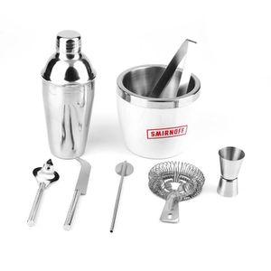 SHAKER - SET COCKTAIL  8 pcs universel shaker à cocktail mélangeur ensemb
