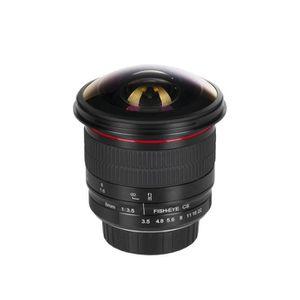 OBJECTIF Meike objectif fisheye 8 mm f/3.5 pour Canon EF mo