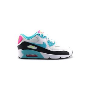 BASKET Basket Nike Air Max 90 Mesh Junior Blanc 833340-10