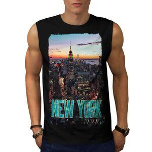Nouveau York Le coucher du soleil Ville Etats Unis américain