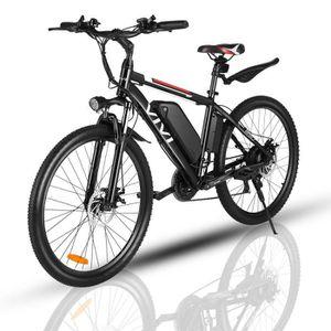 VÉLO ASSISTANCE ÉLEC Vélo électrique montagne pliable 26'' 36V 8AH 7 vi