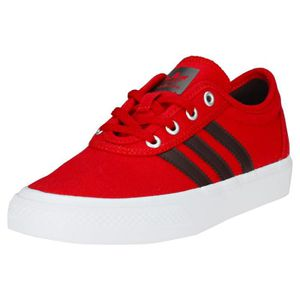 super popular f7b6a a5b9f BASKET adidas Adi-ease J Garçon Baskets Chocolat rouge -