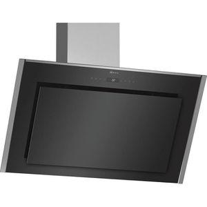 HOTTE Neff - hotte décorative inclinée 90cm 840m3-h noir
