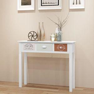 CONSOLE Table de Console-Table d'entrée-style contemporain