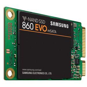 DISQUE DUR SSD SAMSUNG - SSD Interne - 860 EVO mSATA - 1To (MZ-M6