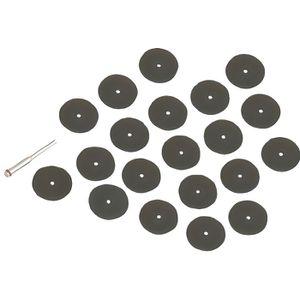 36Pcs résine coupe disque de roue /& Mandrin Set Kit pour outil rotatif Hobby utile