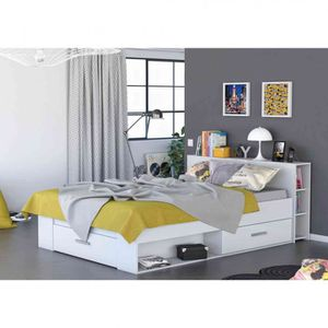 lit 140x190 avec tiroir achat vente lit 140x190 avec. Black Bedroom Furniture Sets. Home Design Ideas