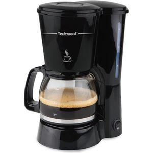 CAFETIÈRE TECHWOOD TCA-686 Cafetière filtre - Noir