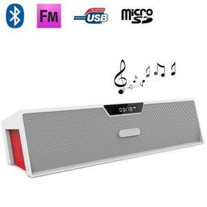 ENCEINTE NOMADE Enceinte portable Bluetooth HIFI Radio FM Réveil L