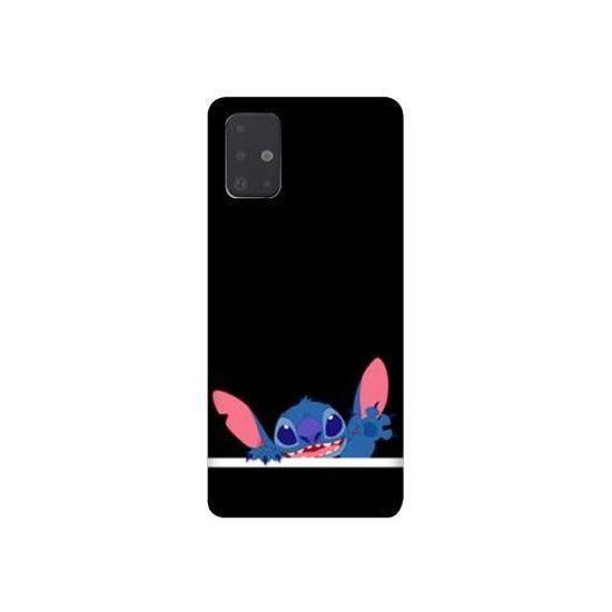 Coque pour Samsung Galaxy A51 Stitch Noir taille unique
