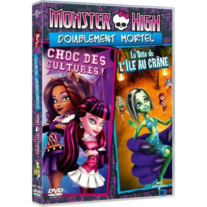 DVD Monster high - doublement mortel