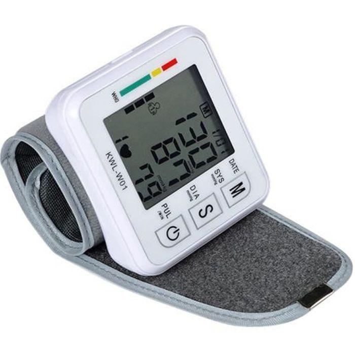 Sphygmomanomètre électronique au poignet Sphygmomanomètre Intelligent automatique maison tensiomètre
