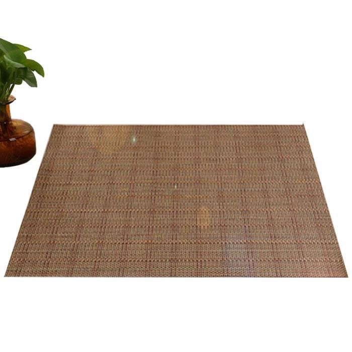 4pcs Sets de Table en PVC Antidérapage - Isolant - 45x30 cm - Tapis de Table Lavable pour Cuisine Occidentale