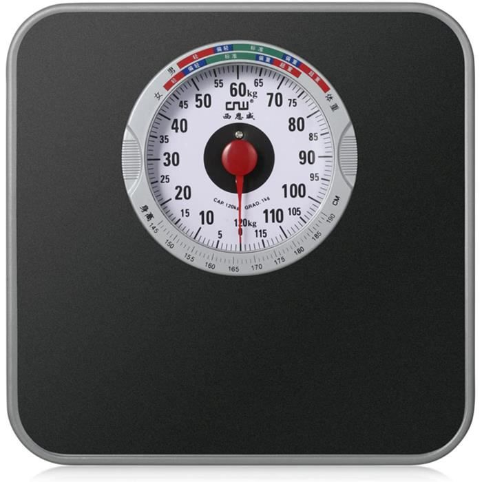 Balance Mécanique, Pesage Rapide, Précis Et Fiable,Pèse-Personne Mécanique Surface Antidérapante, Cadran Analogique Facile À Lire398