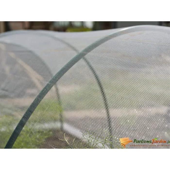 Nature Filet anti-insectes 2x10 m Transparent