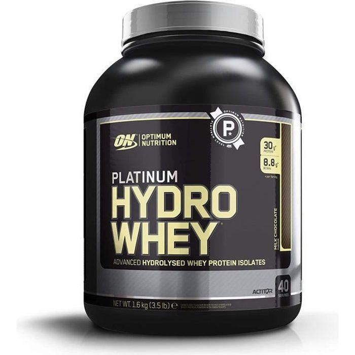 Optimum Nutrition Hydro Whey, Whey Prot&eacuteine Isolate Hydrolis&eacute en Poudre pour Musculation, Source Naturelle de BCAA23