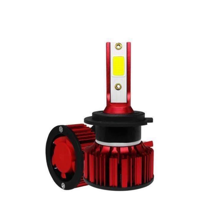 200W 40000LM 2 Ampoules de Phares LED Haute Puissance Pour Voiture Camion VUS H7