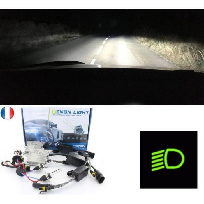 Pack kit xénon feux de croisement pour votre SEAT IBIZA V ST (6J8, 6P8) double phare - Processeur Numérique 32bits - Ampoules métal