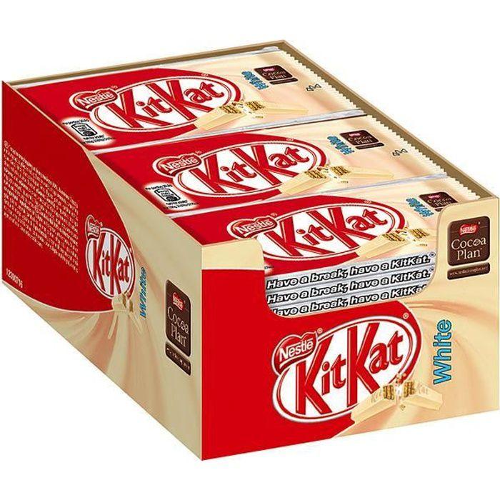 Nestle KitKat White Chocolate Blanc 41,5g (Pack de 24)
