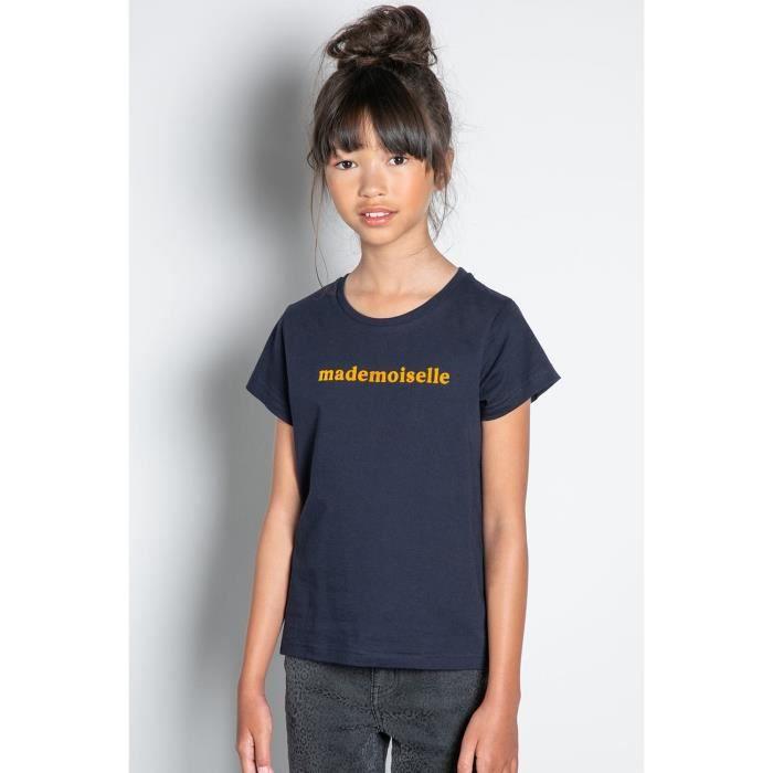 DEELUXE T-shirt à message MISS Navy