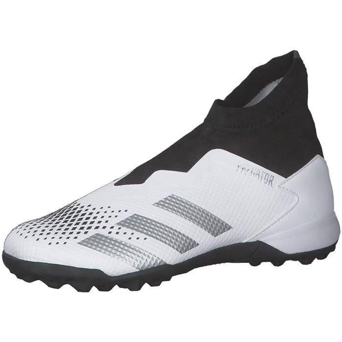 Adidas Predator 20.3 Ll Tf , Chaussures de Football Homme, Ftwbla/Plamet/Negbás, 42 Eu