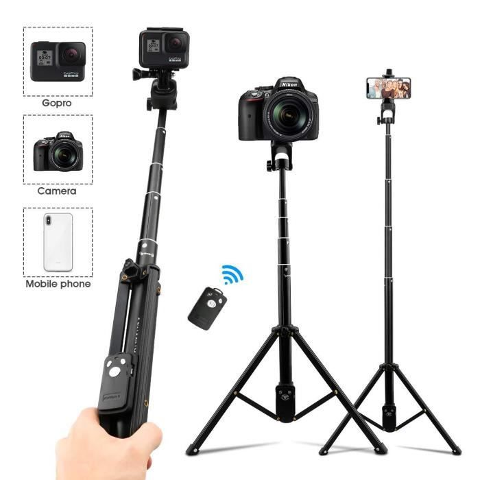 etc 3 en 1 Mini Trépied Smartphone Extensible Selfie Stick
