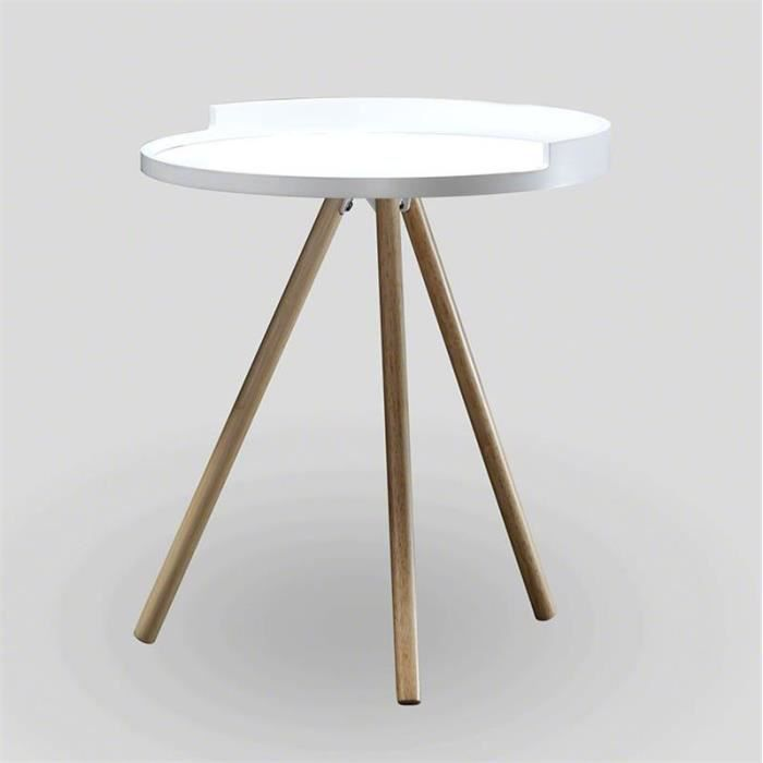table d 39 appoint scandinave blanc achat vente table d