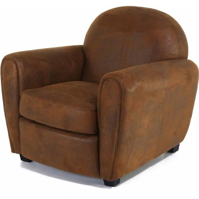 fauteuil club microfibre achat vente fauteuil club. Black Bedroom Furniture Sets. Home Design Ideas