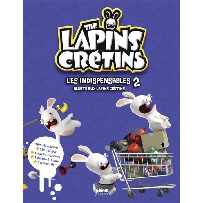 LIVRE 0-3 ANS ÉVEIL Livre - the Lapins crétins ; COFFRET ; activités ;