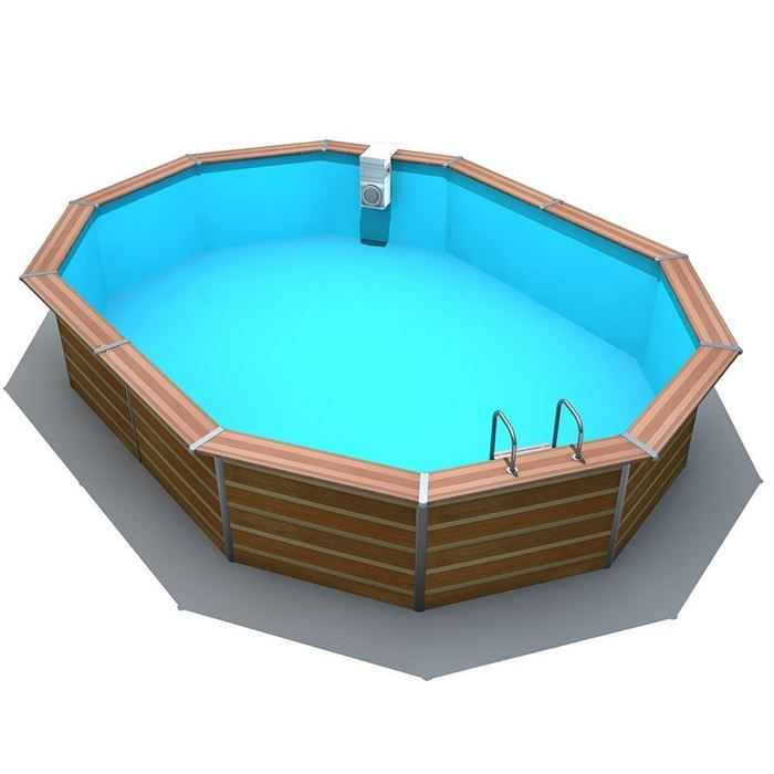 Soldes piscines good soldes piscine manomano achat for Piscine intex solde
