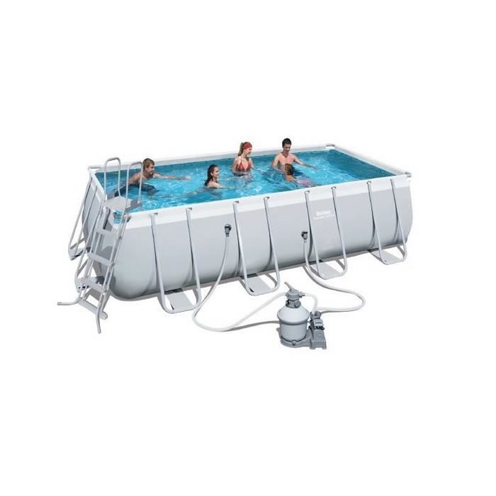 Bestway piscine tubulaire ovale m achat for Piscine 22