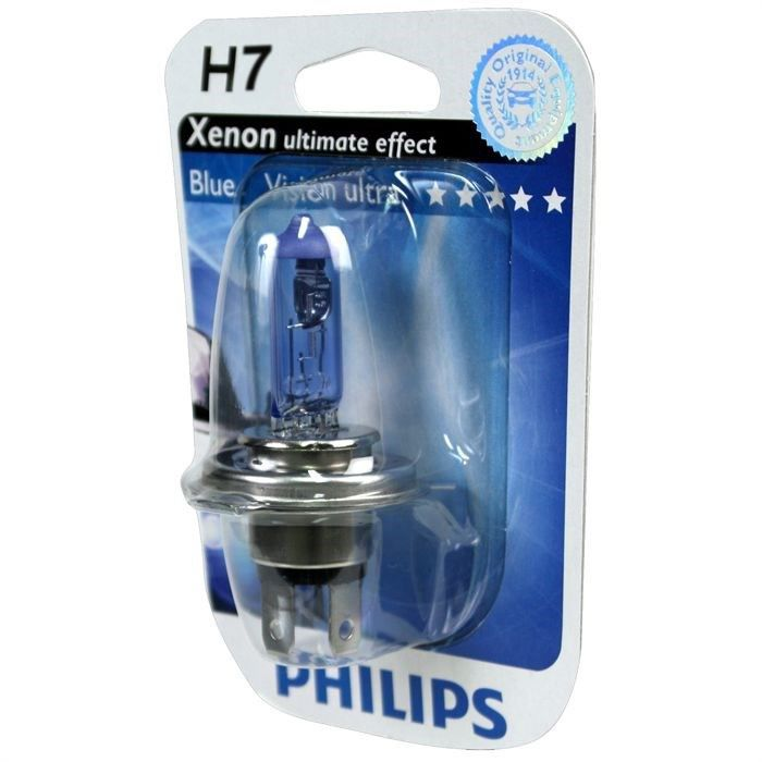 ampoule philips bluevision ultra h7 12v 55w achat vente ampoule tableau bord ampoule philips. Black Bedroom Furniture Sets. Home Design Ideas