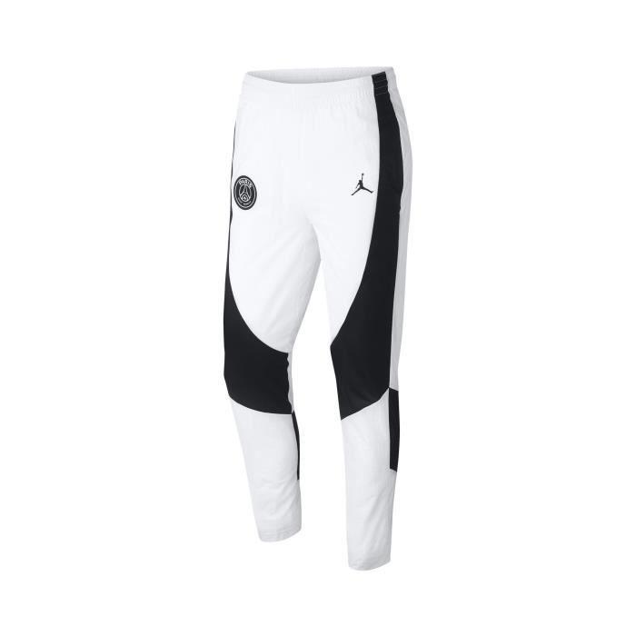 TENUE DE FOOTBALL Pantalon Jordan X Psg Aj1 Blanc-Noir