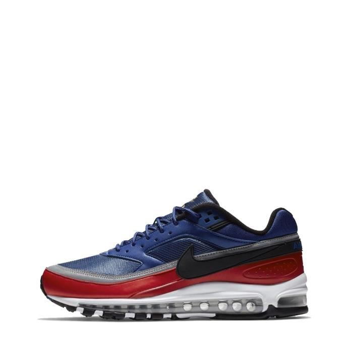 in stock 100% high quality cheapest price Baskets Nike AIR MAX 97/BW Bleu - Achat / Vente basket - Cdiscount