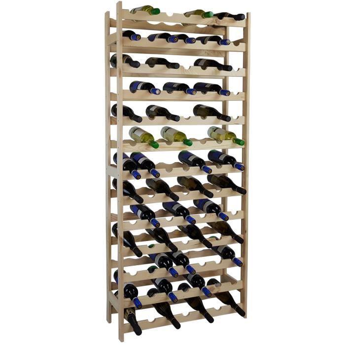 Bouteilles étagère à Colmar noir étagère à vin bois-bouteille Support pour 5 bouteilles