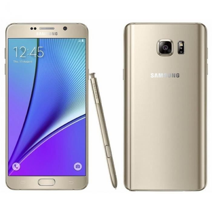 samsung galaxy note 5 smartphone 32gb g9200v p 16mp cran tactile android t l phone. Black Bedroom Furniture Sets. Home Design Ideas