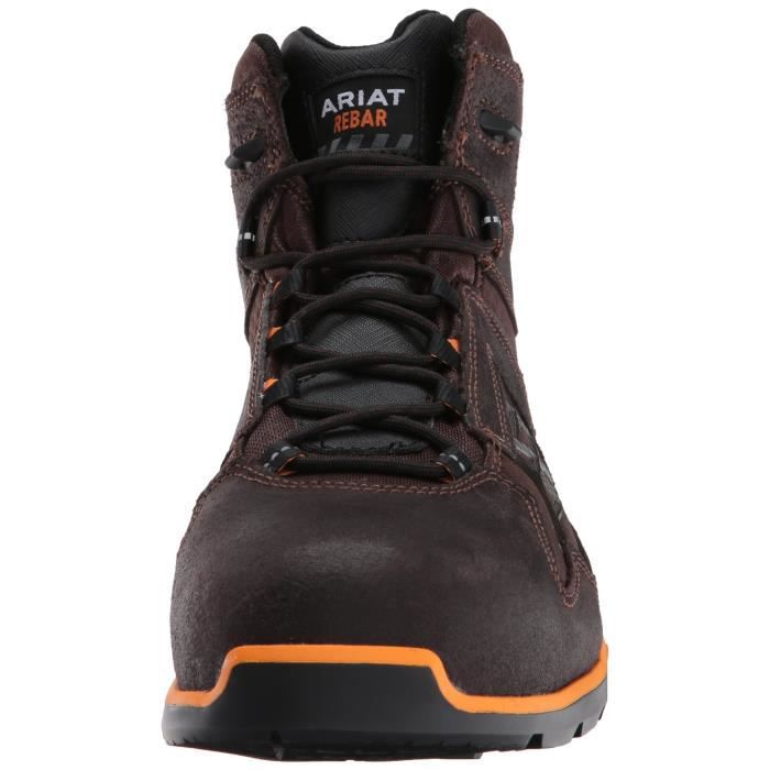 "Ariat Le travail Rebar Flex 6"" Work Composite Toe Boot MDZ40 Taille-48"