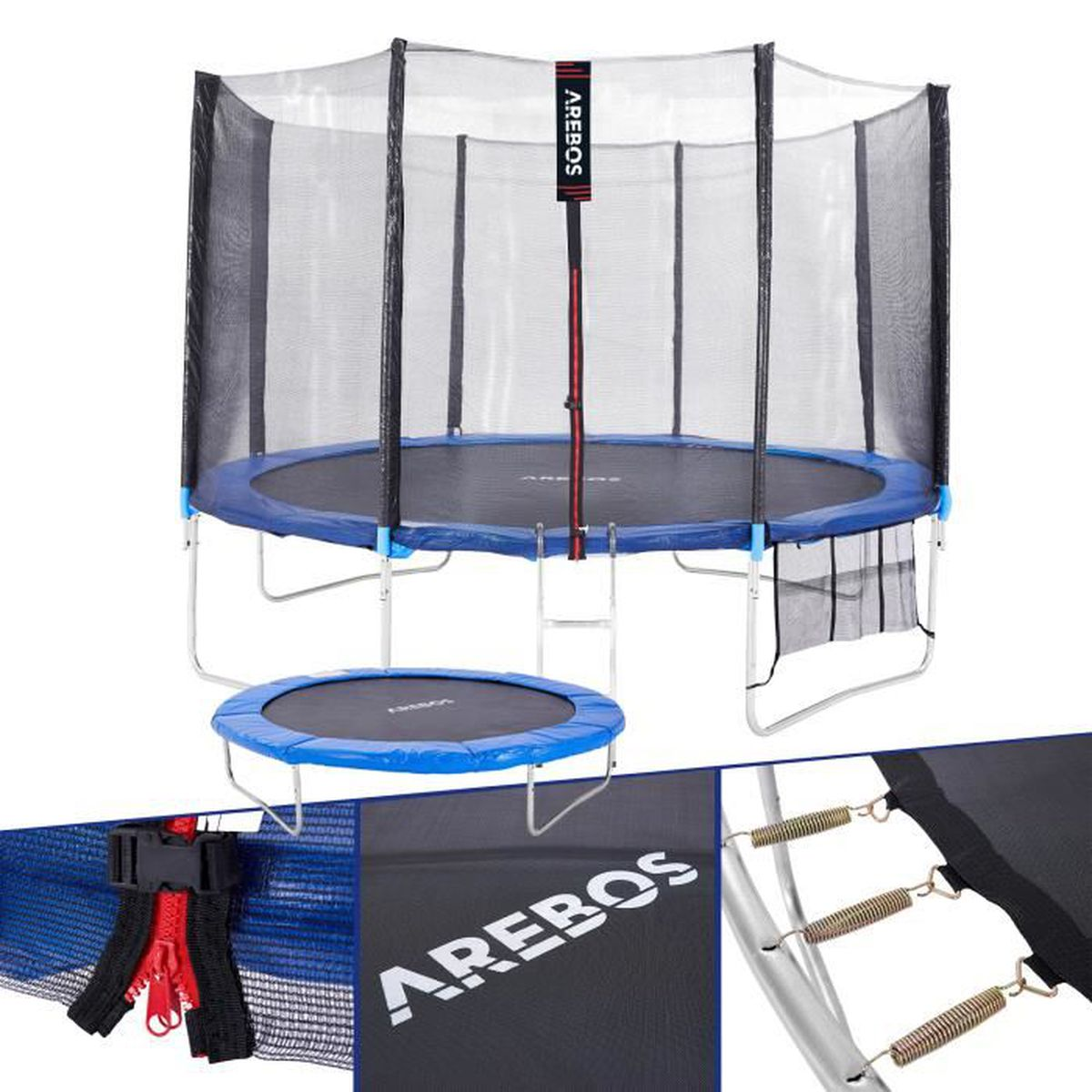 outdoor trampoline ext rieur jardin avec filet de s curit